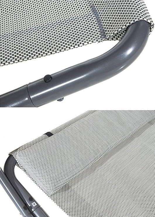 Amazon.com : Abba Patio Outdoor Portable Chaise Lounge Chair Hammock ...
