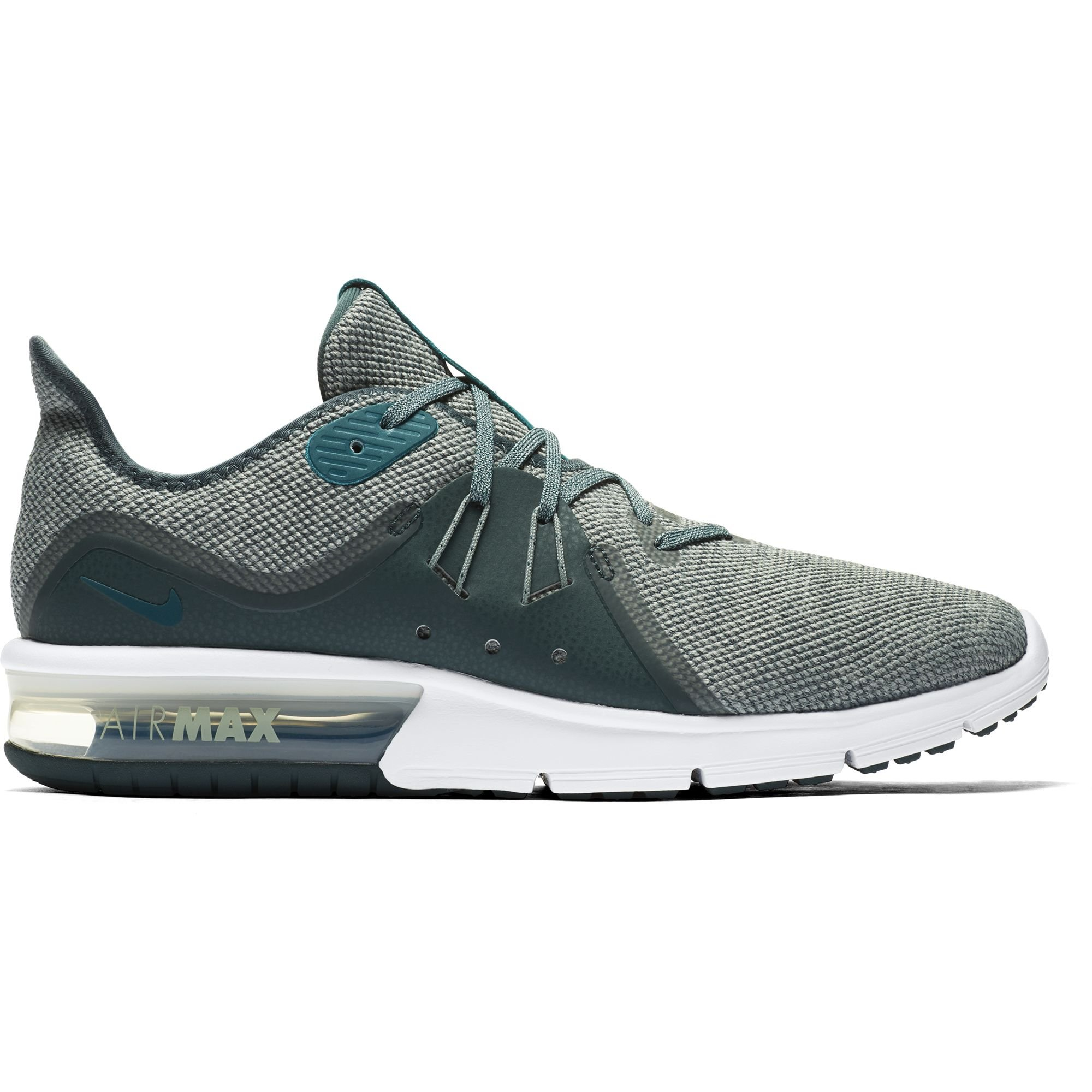 timeless design 436a7 55093 Galleon - Nike Men s Air Max Sequent 3 Running Shoe Mica Green Geode  Teal Faded Spruce Size 9.5 D US