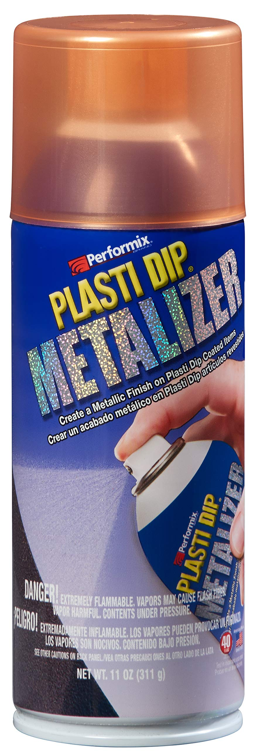 Plasti Dip Performix (11236-6-6PK) Copper Metalizer Enhancer - 11 oz. Aerosol, (Pack of 6)