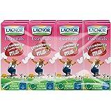 Lacnor Liquid Essentials Stwawberry Milk - 180 ml x 8