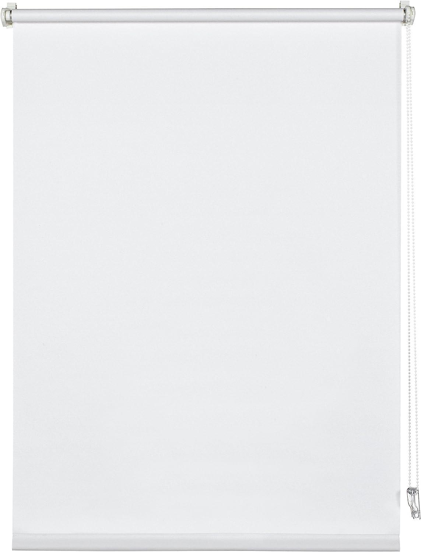 Opaco 40 x 150 cm Bianco Morsetto singolo Tutte parti montaggio incluse Tenda per luce diurna Deco Company Tenda a Rullo con Morsetti poliestere