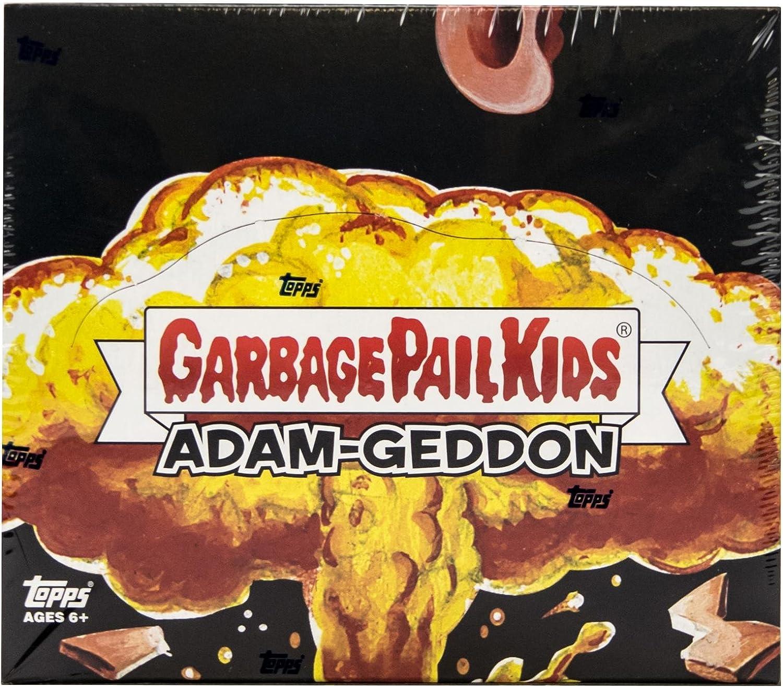 TOPPS GARBAGE PAIL KIDS ADAM-GEDDON FACTORY SEALED HOBBY BOX 2017