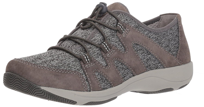 Dansko Women's Holland Sneaker B077VTTXHL 38 M EU (7.5-8 US)|Charcoal Suede