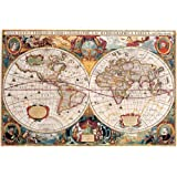 Empire Merchandising GmbH–Póster mapamundi antiguo + Accesorios