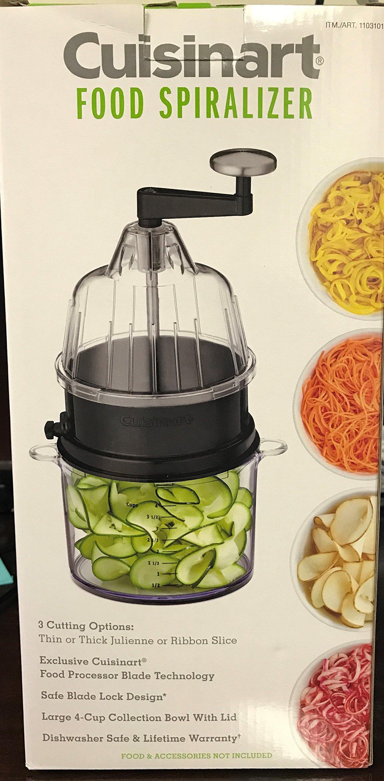 Cuisinart CTG-00-CSPI Food Spiralizer, Black