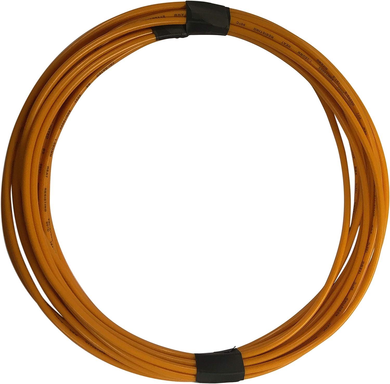 10 m naranja 2 mm 25 Amp Thinwall 12 V Automotive Cable Marine
