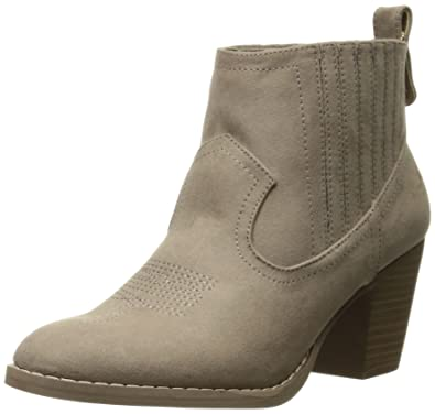 Women's Ronnie Western Heeled Ankle Bootie