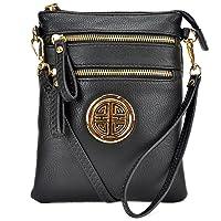 Dasein Fashion All-In-One Gold-Tone Crossbody Handbag Deals