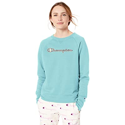 Champion Women's Powerblend Boyfriend Crew Sweatshirt at Women's Clothing store