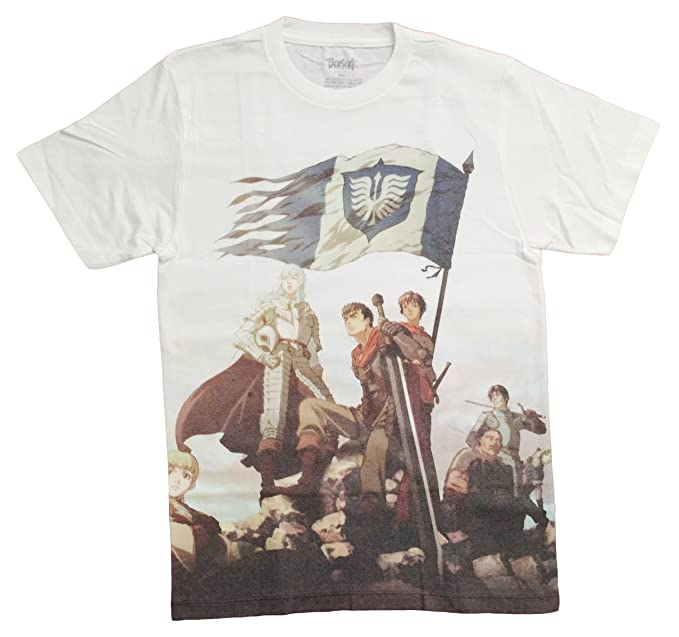 54175776d Amazon.com  Berserk  Team Hawk Men s Sublimation T-Shirt  Toys   Games