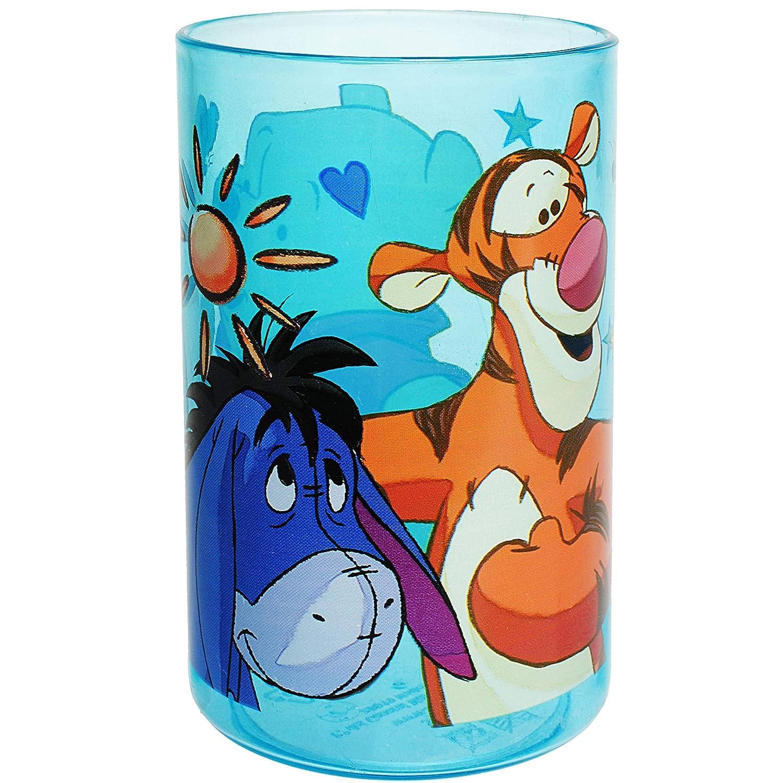 Disney Becher inkl transpar.. alles-meine.de GmbH 3 in 1 Name Winnie Pooh Trinkbecher // Zahnputzbecher // Malbecher Kunststoff Plastik 250 ml Trinkglas BPA frei