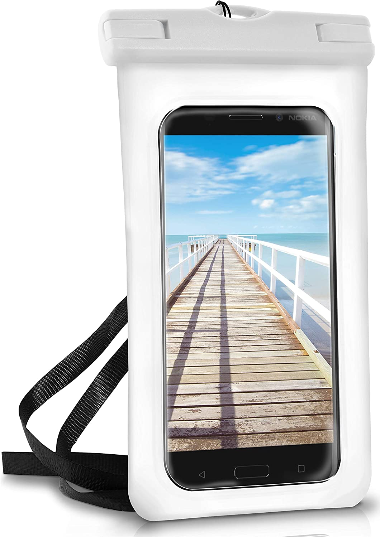 Wei/ß Touch- /& Kamera-Fenster Pear-White OneFlow/® wasserdichte Handy-H/ülle f/ür alle Nokia Modelle Armband und Schlaufe zum Umh/ängen