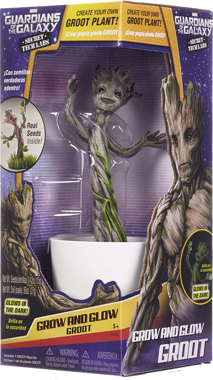 Amazon.com: Uncle Milton - Maceta de Baby Groot, Marvel ...