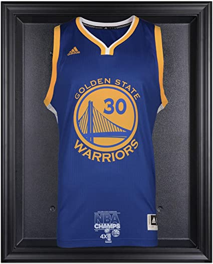 1e6ce7a8100 Image Unavailable. Image not available for. Color  Sports Memorabilia  Golden State Warriors 2015 NBA Finals Champions Logo Black Framed Jersey  Display Case ...