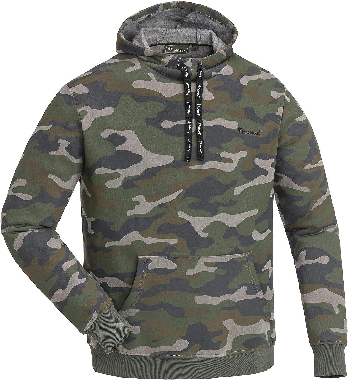 Pinewood Herren Camou Sweater Sweatshirt