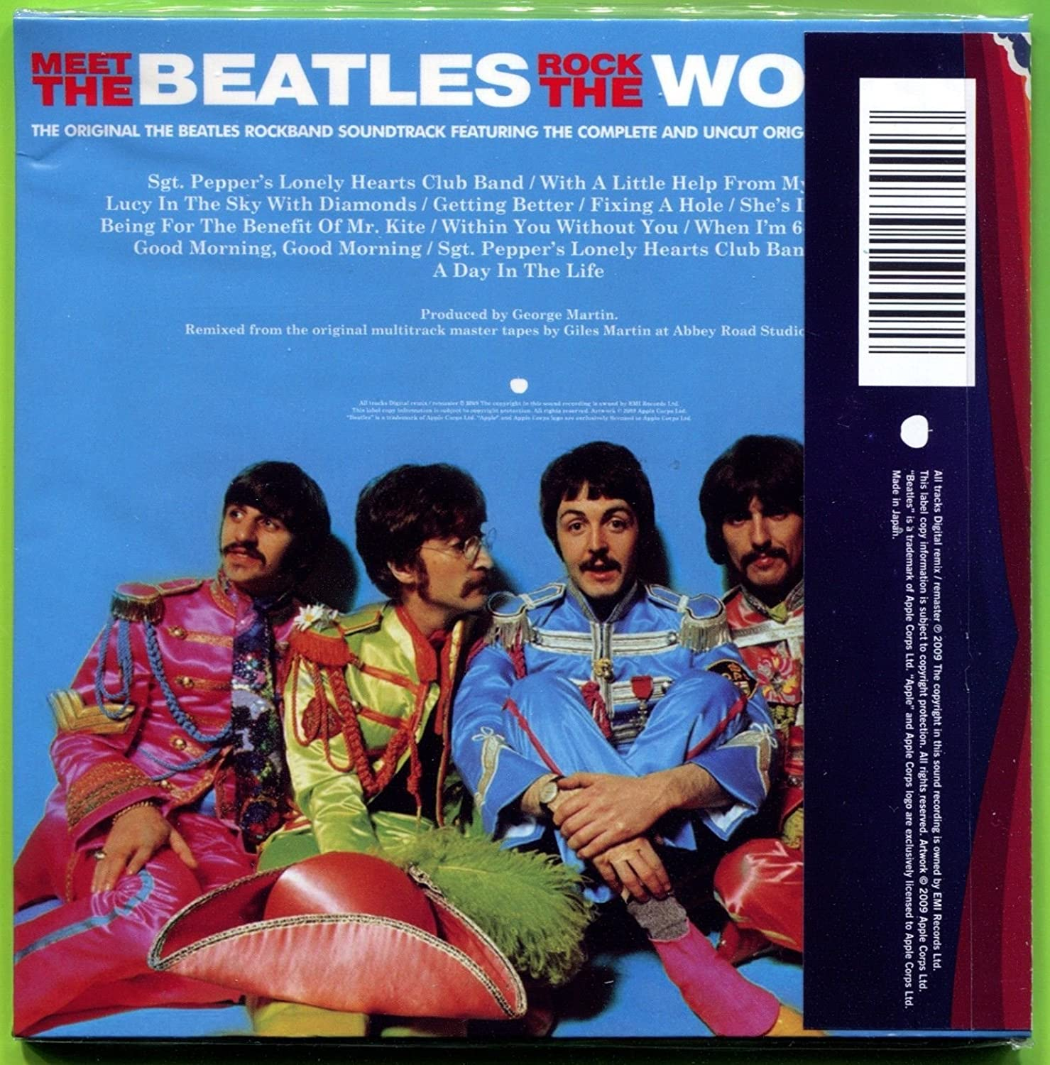 The Beatles SGT  PEPPER'S LONELY HEARTS CLUB BAND (ROCKBAND