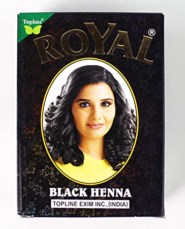 a8b9fa2b5 Amazon.com : royal henna Herbal Base Powder Dye - Black Henna - 60G (6 x  10gm) : Beauty