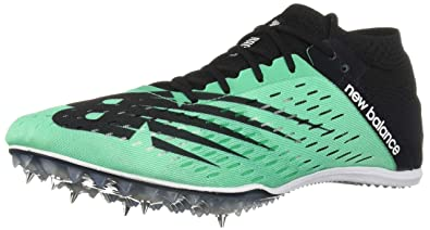 New Balance Mens 800v6 Track Shoe neon Emerald/Black 4 ...