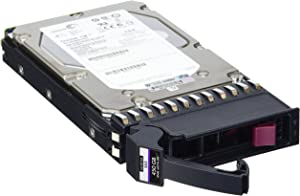 HP P2000 450GB 6G SAS 15K RPM Lff (3.5-INCH) Dual Port Enterprise Hard Drive