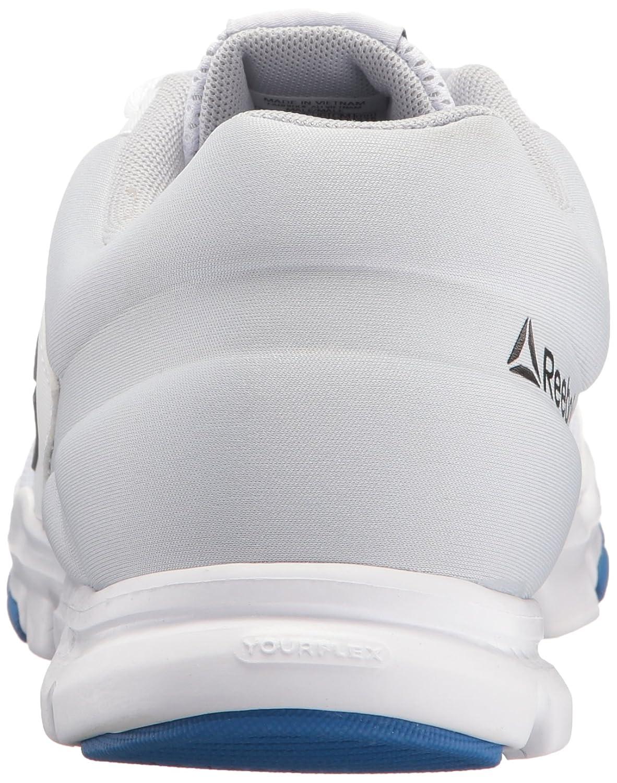 9dc3024e33d27 Zapatillas para correr Reebok Yourflex Train 9.0 MT para hombre Blanco    azul vital   gris nube