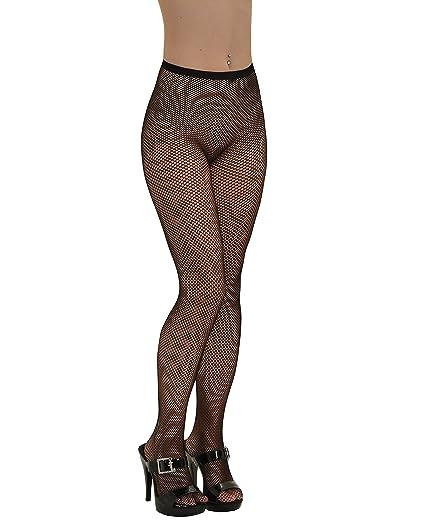 75fc2fa5f Amazon.com  Seamless Panty Hose Fishnet Hosiery Black White or Red ...