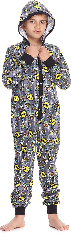 Timone Boys Teenager Jumpsuit Pyjama TI122