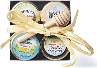 product image for Bare Honey | Spreadable Honey Gift Set | 4 x 1.87 oz Glass Jars