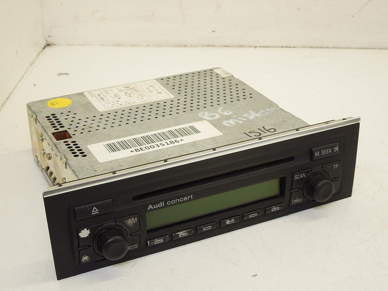 Audi A4 B6 Concert Stereo Radio Head Unit Single Cd Amazoncouk