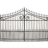 Cancello in ferro pieno 402x288 cm