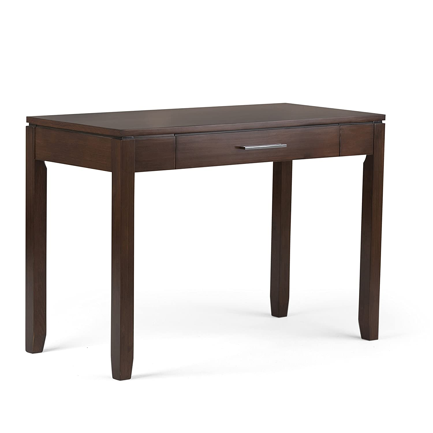Simpli Home Cosmopolitan Collection Office Desk, Medium Auburn Brown CCT Global Sourcing AXCCOS008