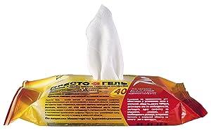 DAN Pharm PRESTO GEL Natural Hemorrhoids Treatment Soft & Moist Cloth Wipes (40 pcs)