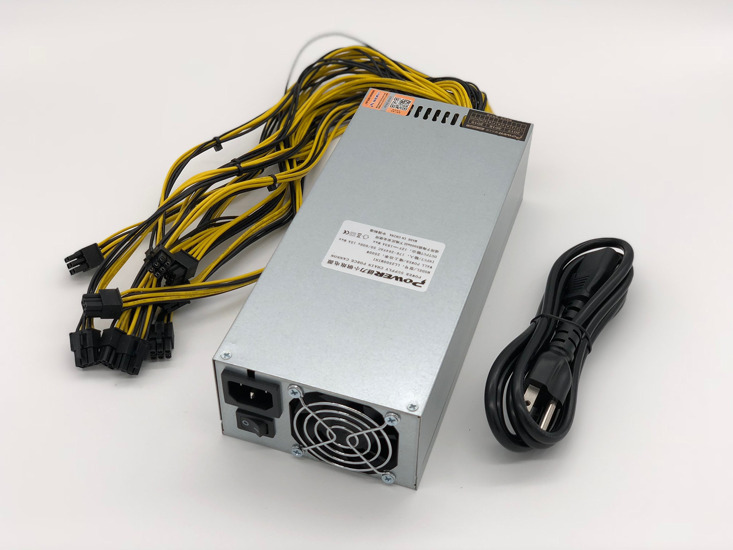2500W Power Supply for Antminer S9 D3 A3 And L3