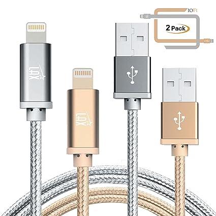 Amazon.com: LAX Gadgets cable Lightning cargador para iPhone ...