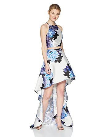 Amazon.com: Speechless Womens High-Low Mikado 2-Piece Formal Dance and Prom Dress: Clothing