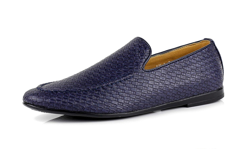 Jas Detalles Sobre Hombre sin Cierres Moderno Estampado Mocasines Zapatos de Conducción Casual Elegante Mocasin Talla UK: Amazon.es: Zapatos y complementos