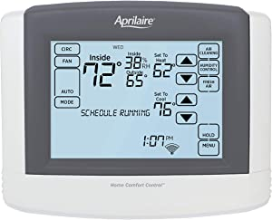 Aprilaire 8910W Touch Screen Wi-Fi IAQ Thermostat; Works with Alexa