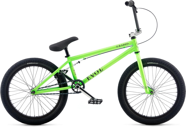 Radio Bikes Evol Bicicleta BMX, Unisex Adulto, Verde, 20.3: Amazon ...