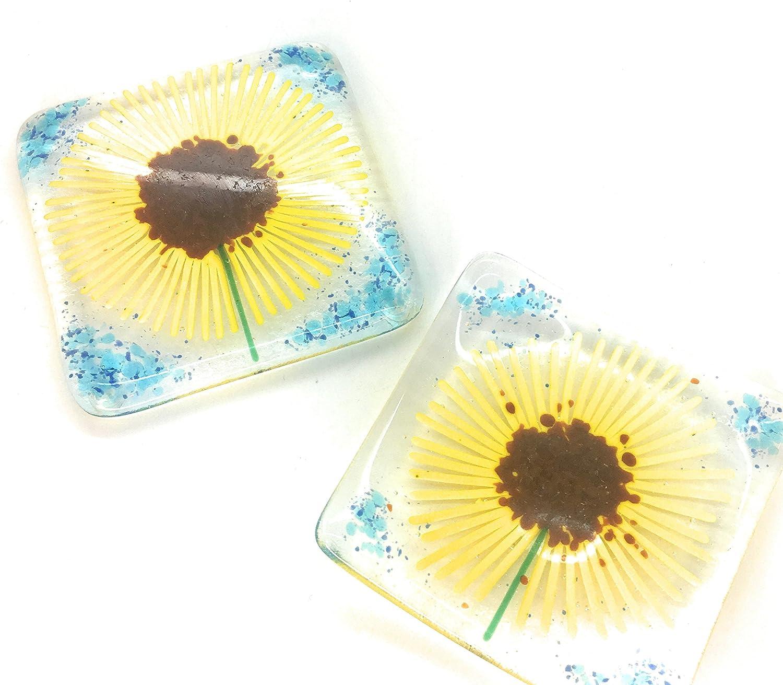 Crafted Sunflower Cufflinks