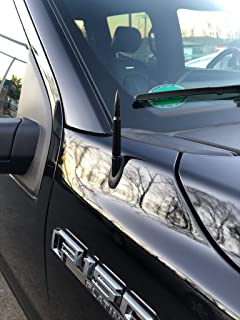 ZYTC Bullet Style Stubby Antenna Mast Radio Aerial Blue Replacement Fit Nissan Frontier 1998-2019 4.2 inches