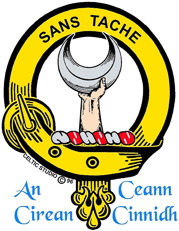 Napier Clan Crest Scottish Kilt Pin