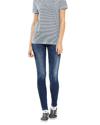 adf379420e9 PULZ Anett Skinny Jeans - Bleu - 32W x 32L: Amazon.fr: Vêtements et ...