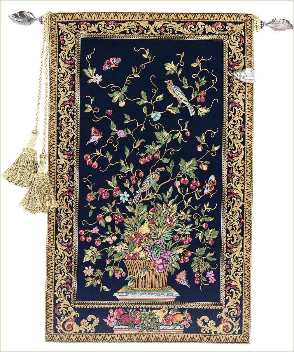 Corona Decor Presentation European Tapestry Wall Hanging CORONA DECOR COMPANY 3670//mu