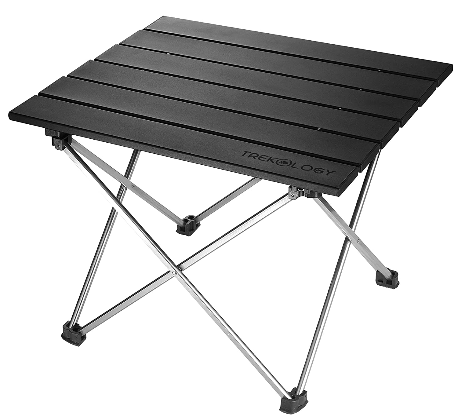 Folding Camping Table Portable - Small Folding Beach Table - Portable Picnic Table - Small Aluminum Side Table Lightweight Cam Table for Biking,Backpacking Camp, RV, Car, Travel, Motorcycle, Fishing