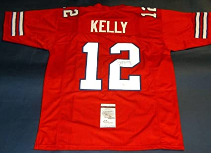 cheap for discount 3305f 66d75 Jim Kelly Signed Jersey - Rare New Generals Usfl - JSA ...