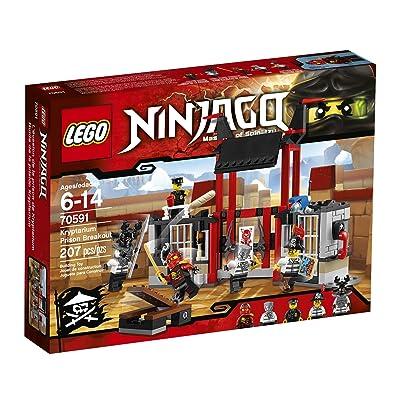 LEGO Ninjago 70591 Kryptarium Prison Breakout Building Kit (207 Piece): Toys & Games