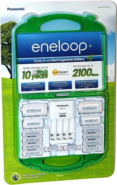 Amazon.com: Panasonic eneloop – Pilas recargables y cargador ...