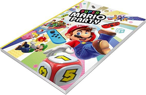 Cuaderno - Super Mario Party: Amazon.es: Videojuegos