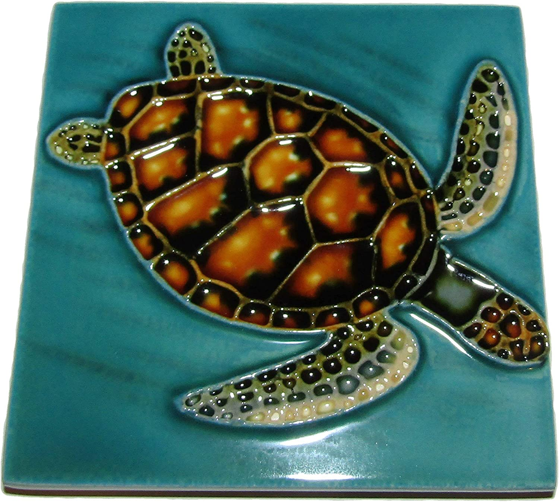 3dRose ct/_34757/_1 Diamonds and Blue Sapphire Star Ceramic Tile 4-Inch