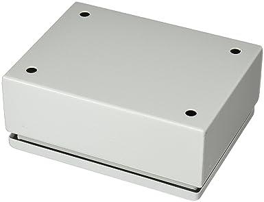 Schneider Electric NSYSBM15208 Caja industrial de metal con puerta ciega 150x200x80 IP66 IK10 RAL 7035: Amazon.es: Industria, empresas y ciencia
