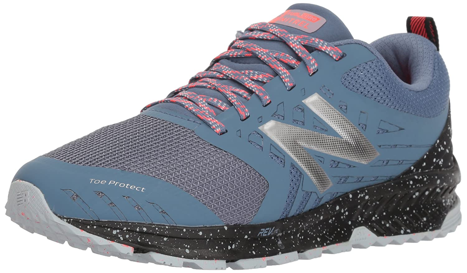 New Balance Women's Nitrel v1 FuelCore Trail Running Shoe B0751RBN65 9 D US|Reflection